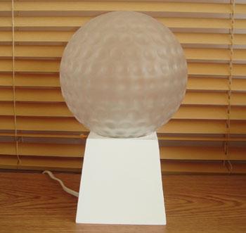 ゴルフボール型 ライト!