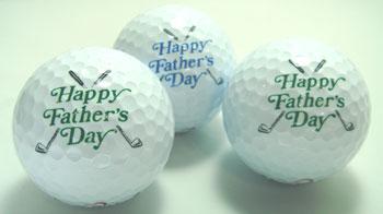 父の日用ゴルフボール!