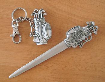 キャディバッグペーパーナイフ