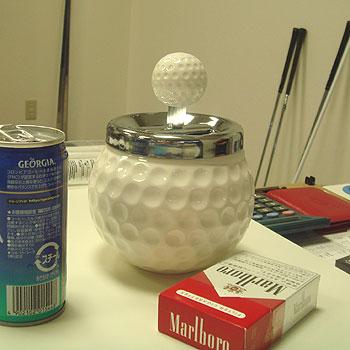 ゴルフボール型 灰皿!