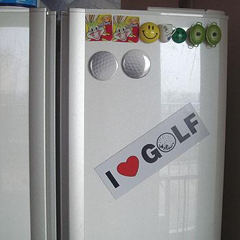 I LOVE GOLF マグネットステッカー