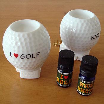 ゴルフボール型 アロマライト!