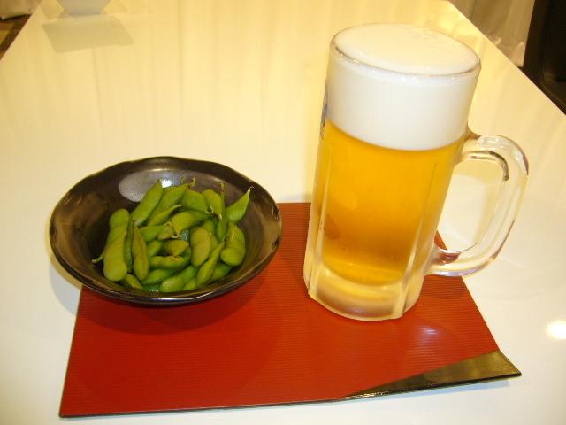 枝豆ビール