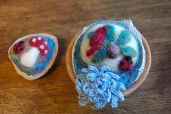 Needle felt Pincushion