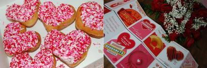 バレンタイン&クリスピードーナッツ