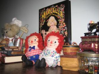 ラガディ・アンとアンディーのマスコット