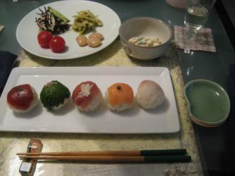 手まり寿司3