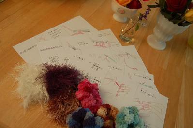 子ども編み物クラス2