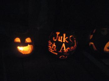 かぼちゃ彫り大会2