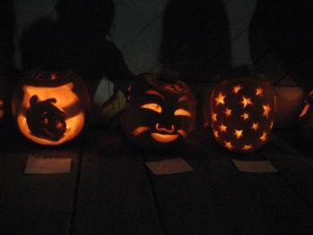 かぼちゃ彫り大会4
