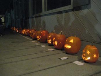 かぼちゃ彫り大会1