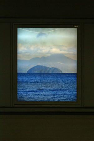 駅の竹生島