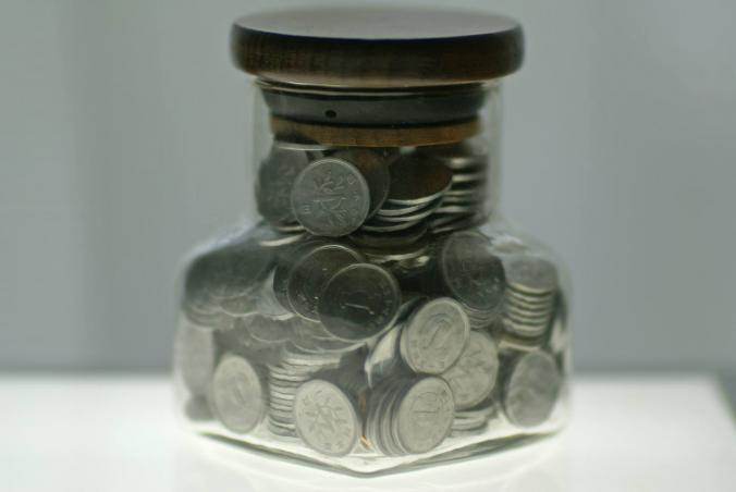 1円玉貯金