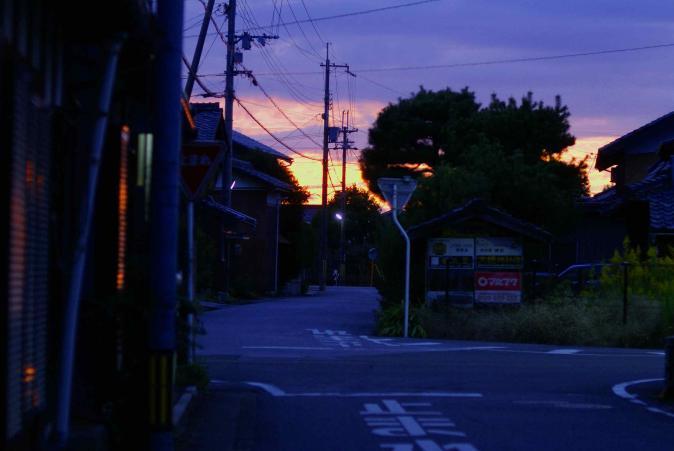 1029夕焼け2