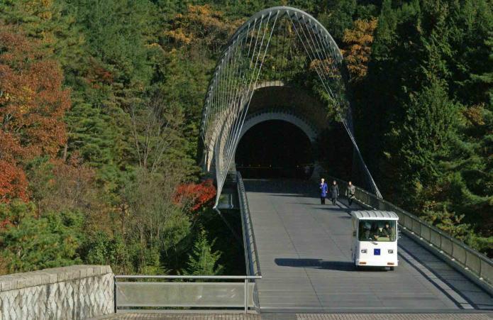 ミホトンネル出口