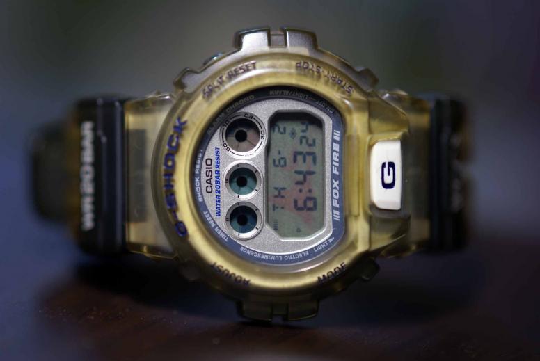 時計ブルー