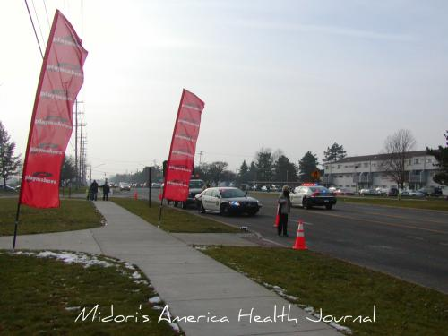 Jingle Bell Running 2010 poice cars