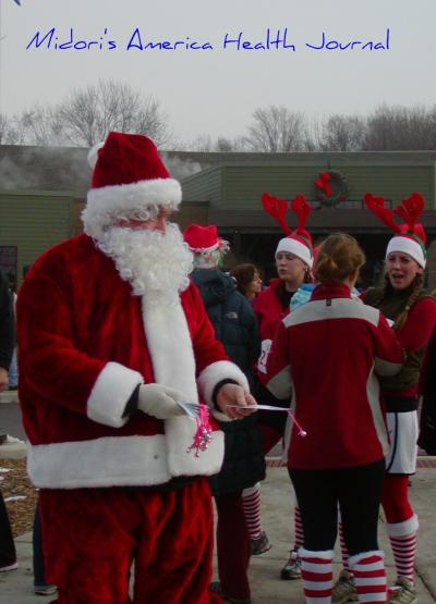 Jingle Bell Running 2010 Santa