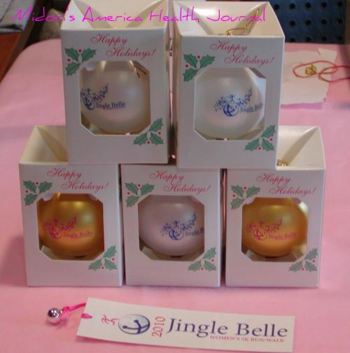 Jingle Bell Running Christmas ornaments
