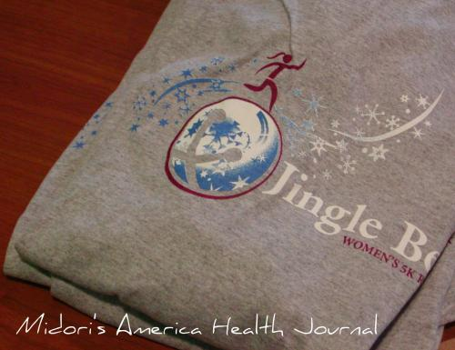 Jingle Bell Running 2009 T-shirt