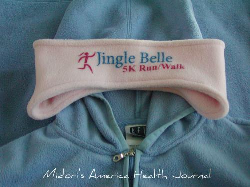 Jingle Bell Running 2010 headband