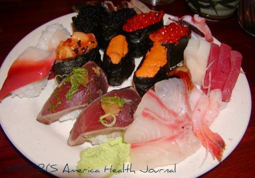 寿司ビュッフェー