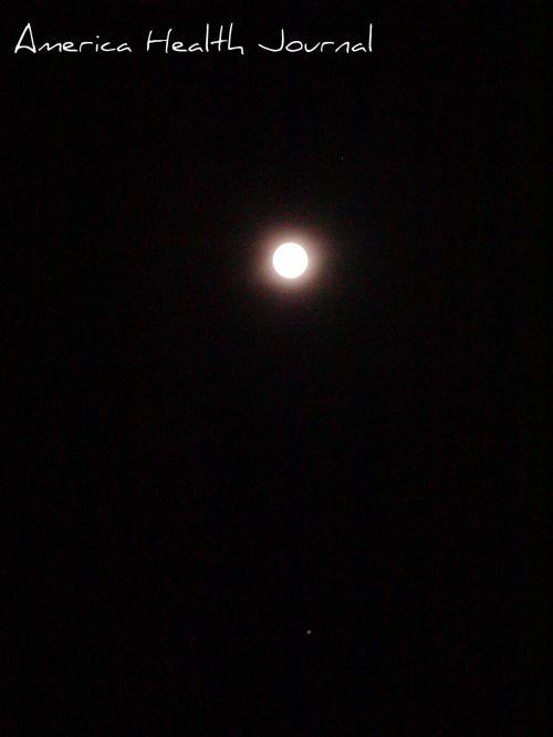 十五夜と星 お月とお星
