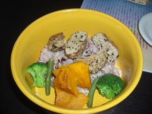 豆腐とヒジキ入り贅沢ワンバーグランチ