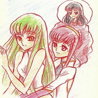 アーニャ(マリアンヌ)&C.C,