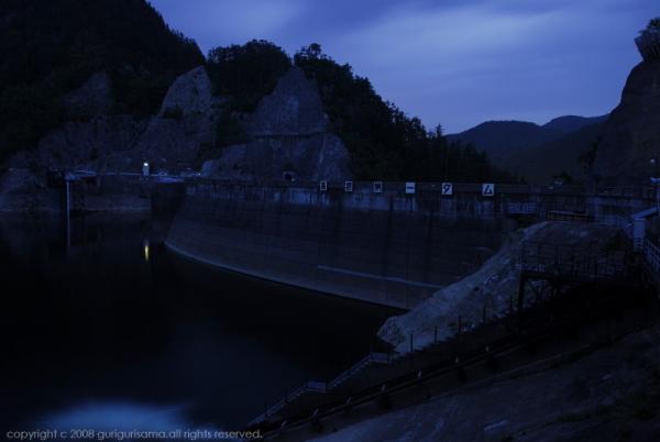 岐阜県・高根第一ダム
