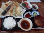 天ぷら定食¥1000くらい?