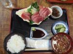 まぐろ刺身定食¥1050かな