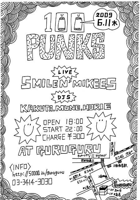 100 punks