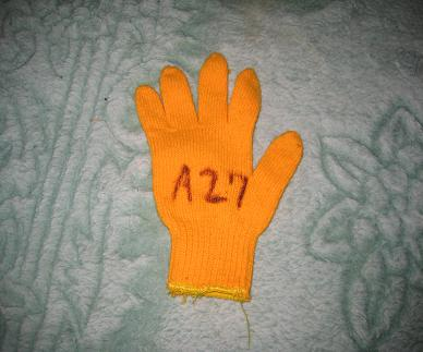 A27茶軍手