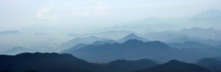 経ヶ岳から鹿島方向