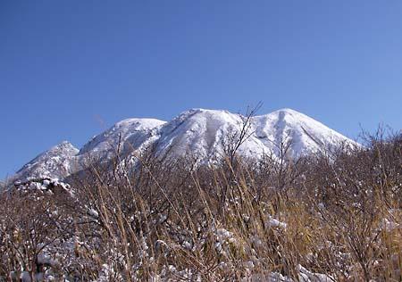 三俣山全景