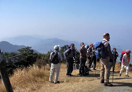 八郎岳山頂