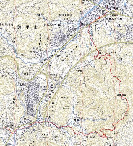 井樋ノ尾岳コース