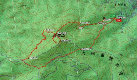 080324岩屋山LOG