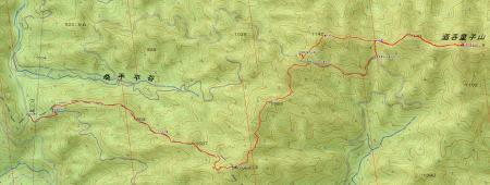 080515酒呑童子山・ハナグロ山