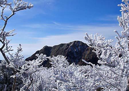 普賢岳下から妙見岳
