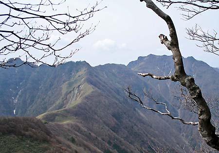 寒風山と笹ヶ峰