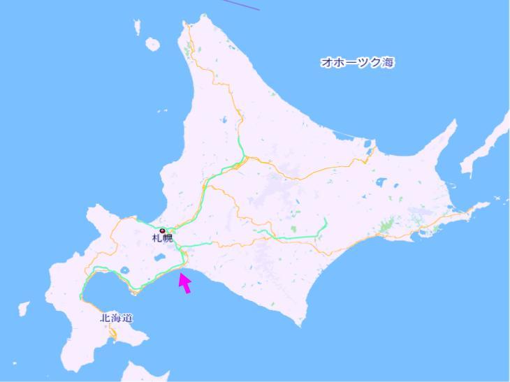 北海道はでっかいな~