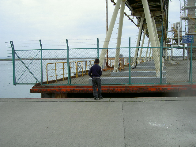 東港発電所前