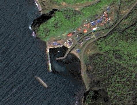 スパイ衛星からの撮影