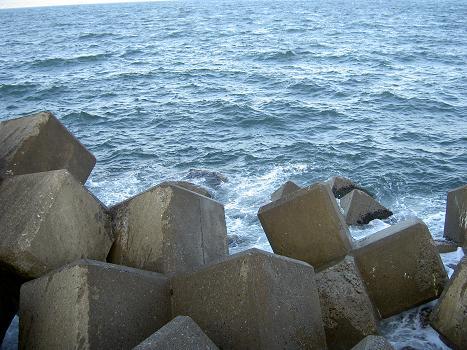 荒れもようの太平洋?日本海?