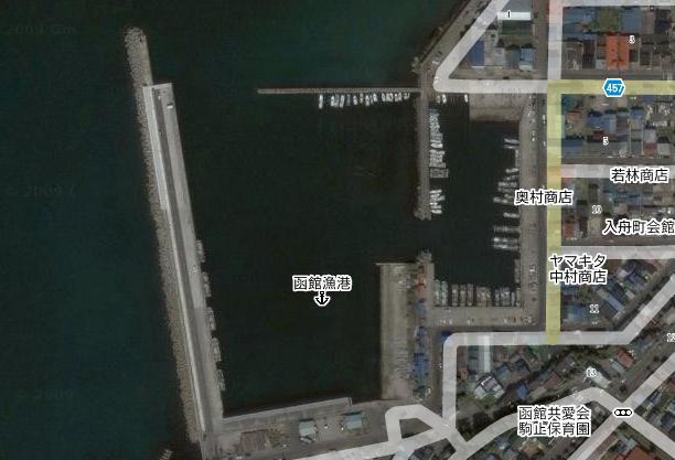 この漁港、イカがいそうなんだけど・・・