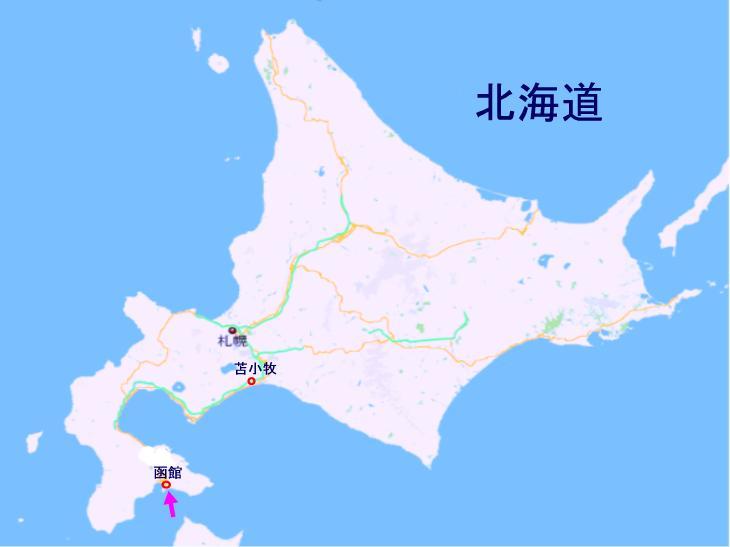 北海道の夏は短し