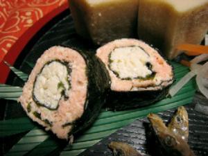 鮭海苔巻き