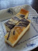チョコレートマーブルチーズケーキバー
